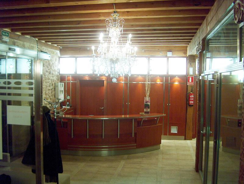 Palacio recepción
